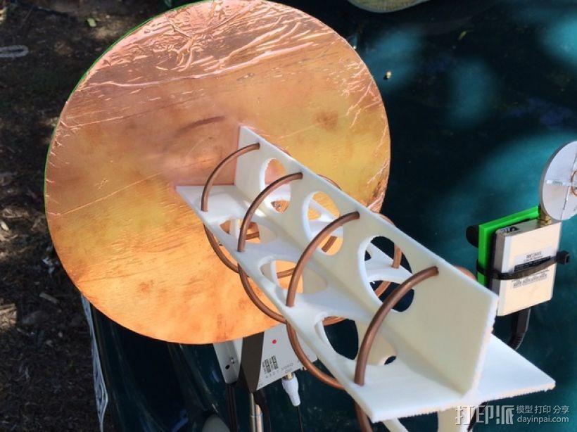 FPV天线支架 3D打印模型渲染图