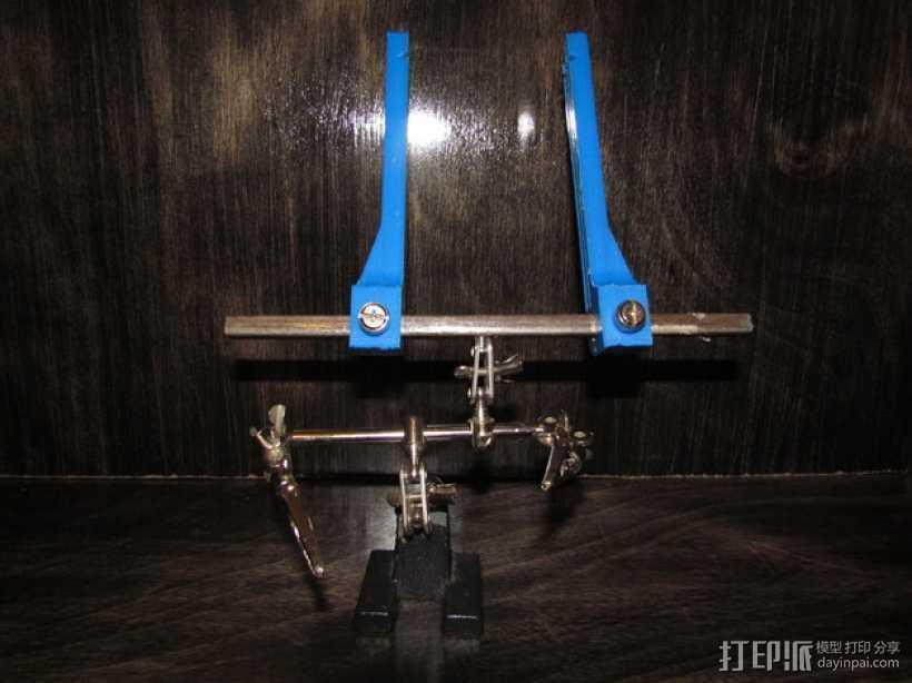 PCB虎钳 3D打印模型渲染图