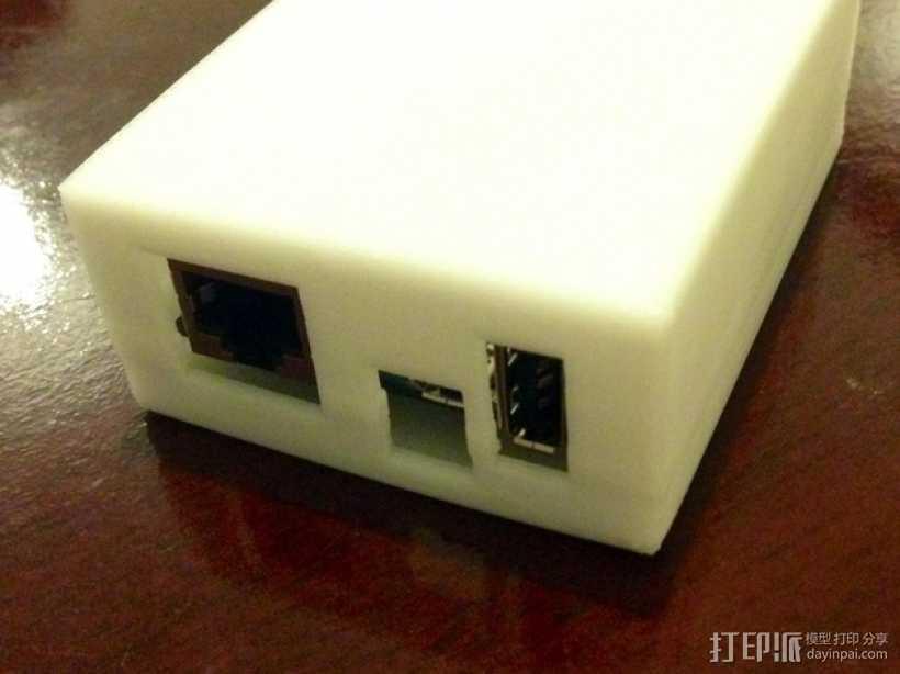 Arduino Yun电路板外壳 3D打印模型渲染图