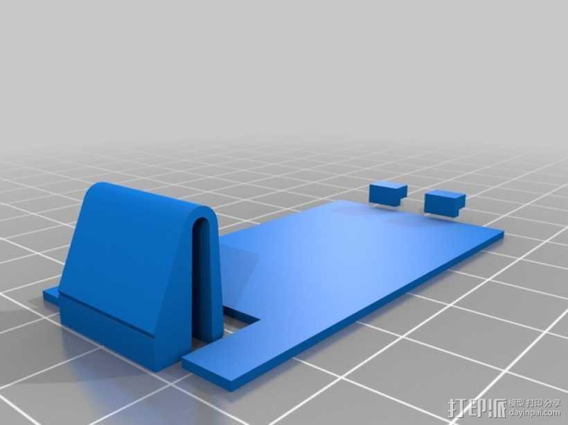 定制化电池盖 3D打印模型渲染图