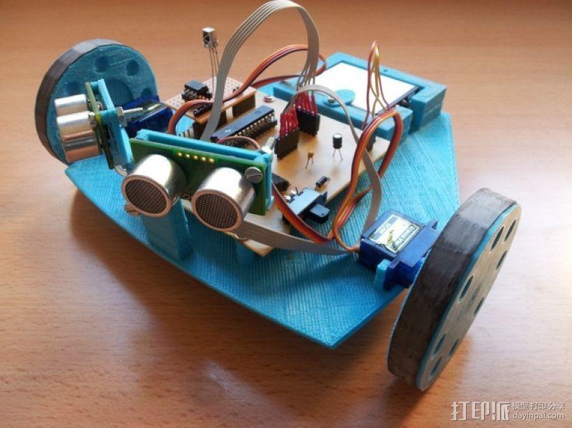 SFRNEC机器人 3D打印模型渲染图