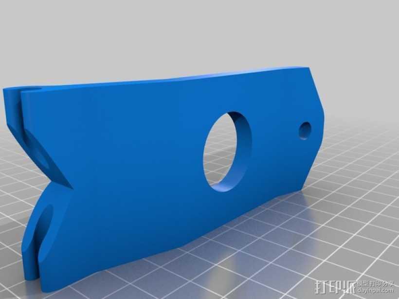 FPV显示器支架 3D打印模型渲染图