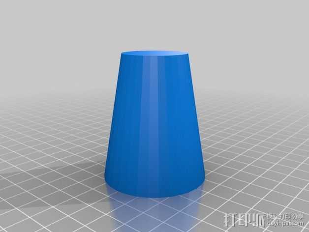 熔岩灯 灯罩 3D打印模型渲染图