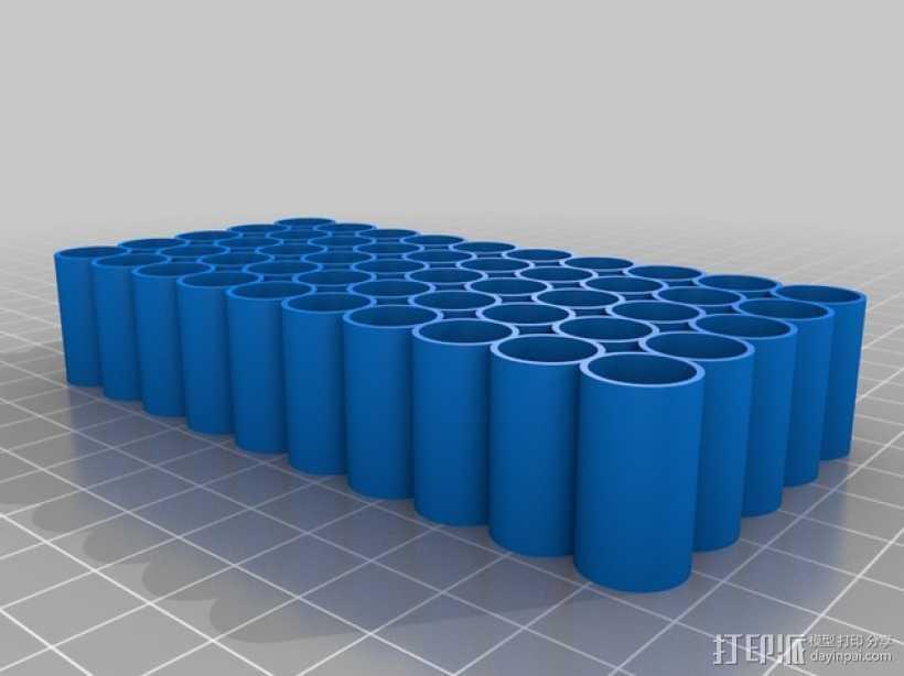 子弹托盘 3D打印模型渲染图