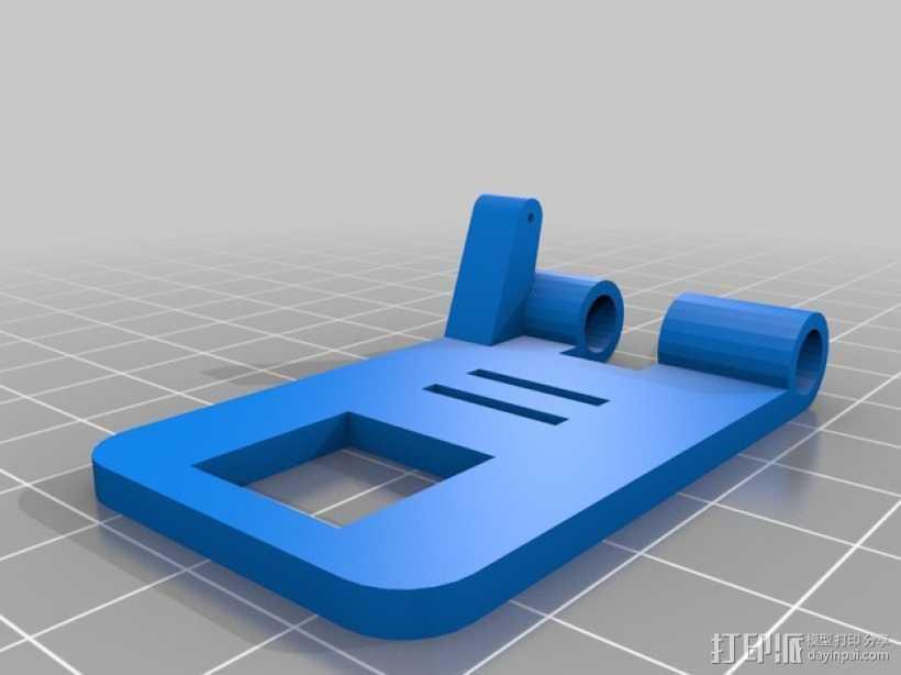 Mobius相机支架 3D打印模型渲染图