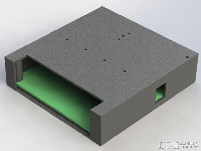 继电器外壳 3D打印模型渲染图