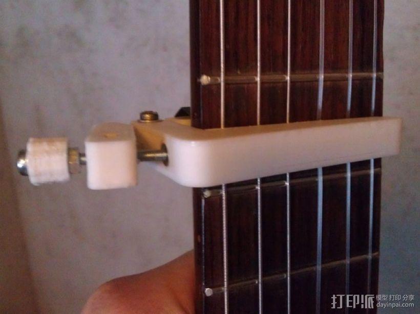 吉他变调夹 3D打印模型渲染图