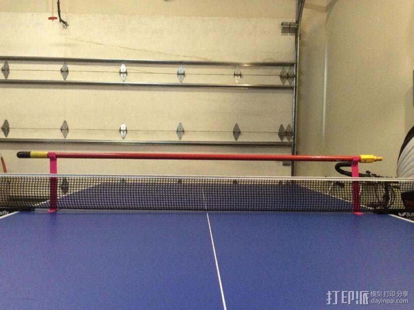 乒乓球桌 训练杆 3D打印模型渲染图