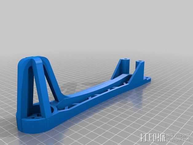 Spyda 号飞行器腿 3D打印模型渲染图