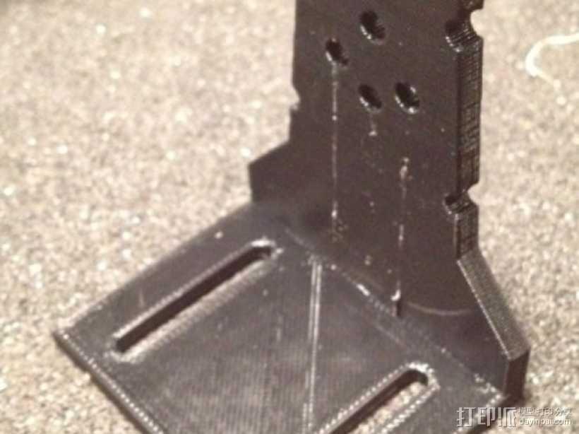 FPV Tx固定槽 3D打印模型渲染图