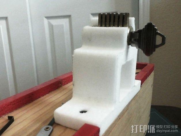 开锁装置 3D打印模型渲染图