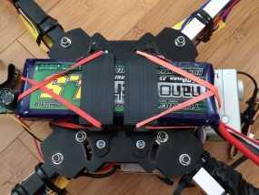 多轴飞行器 电池支架