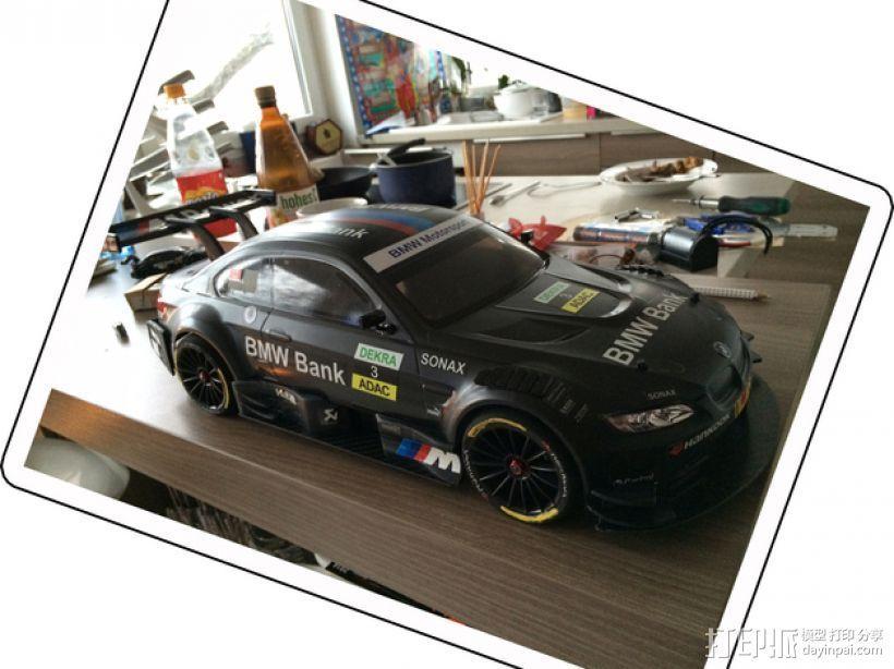 BMW M3遥控车侧翼 3D打印模型渲染图