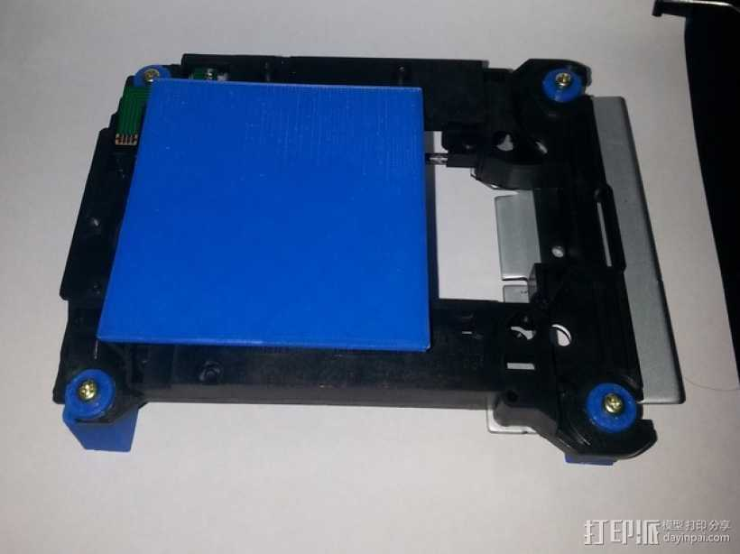 激光雕刻机 塑料零部件 3D打印模型渲染图