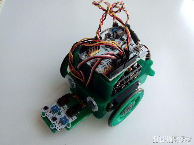 """""""蝌蚪""""机器人 3D打印模型渲染图"""