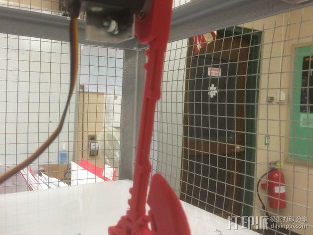 战斧 支架 3D打印模型渲染图