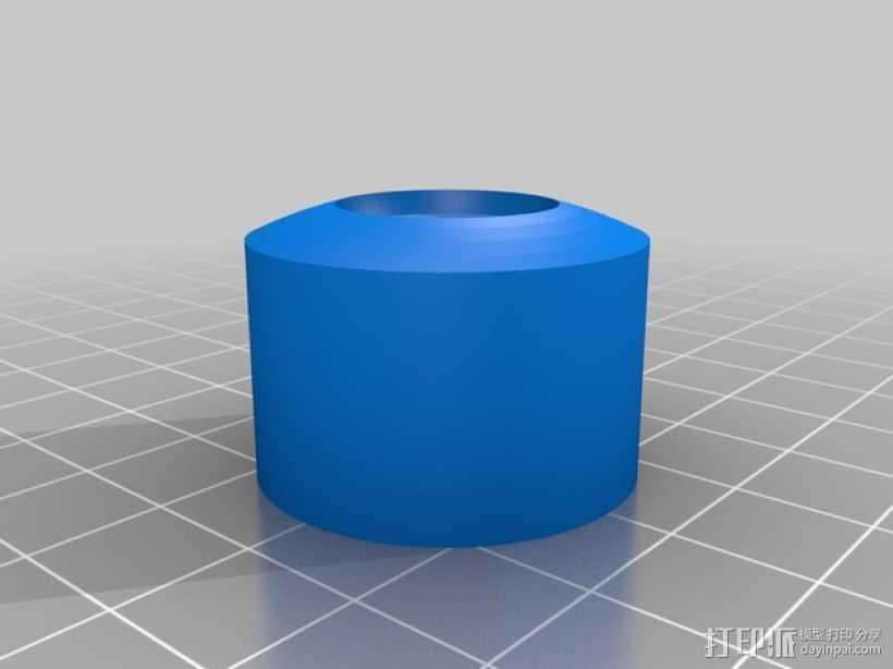 大众汽车轮胎帽盖 3D打印模型渲染图