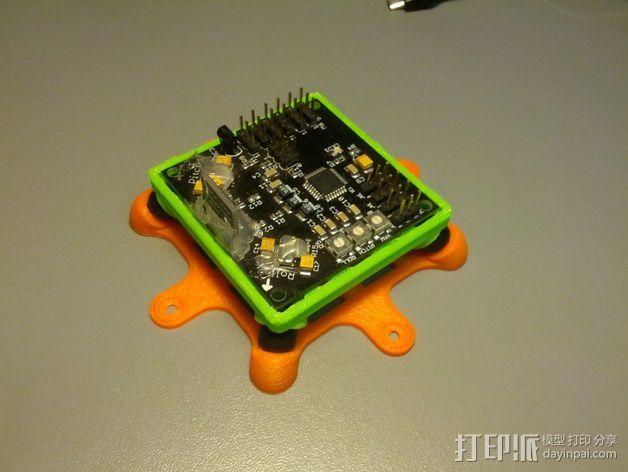 Bumblebee KK防振底座 3D打印模型渲染图