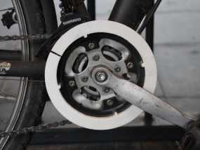自行车链条保护环