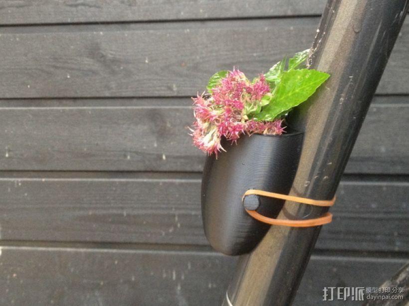 自行车绿植 3D打印模型渲染图