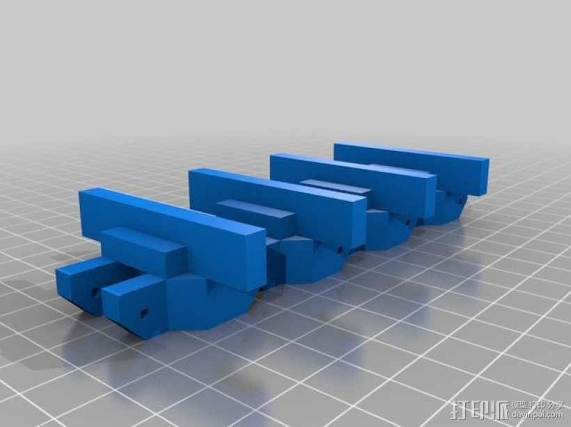 履带 3D打印模型渲染图