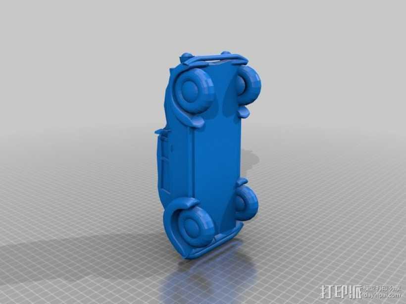 大众甲壳虫系列汽车 3D打印模型渲染图