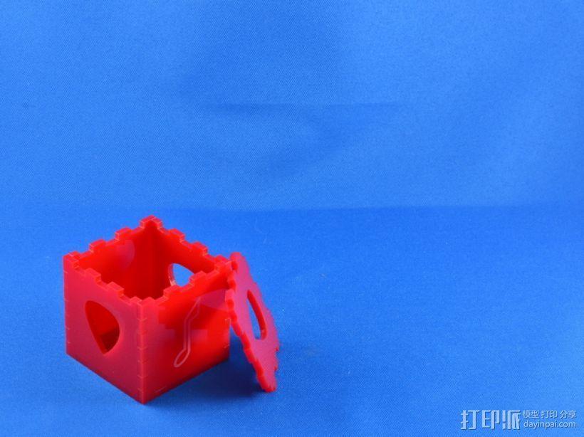 吉他拨片 小盒 3D打印模型渲染图