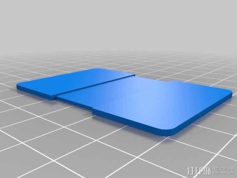 支撑板 3D打印模型渲染图