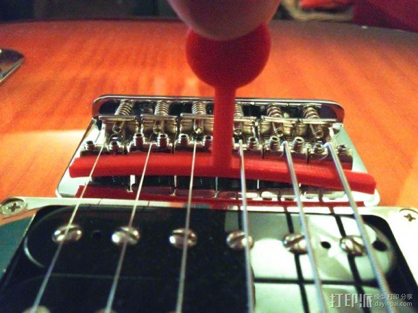 吉他弦测量装置 3D打印模型渲染图