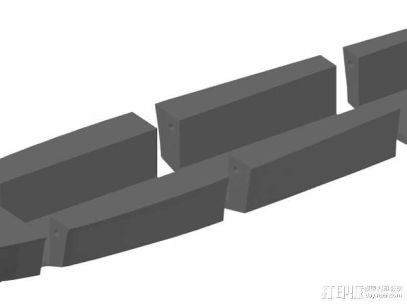 PT109船体  3D打印模型渲染图