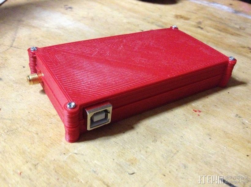 电路板保护盒 3D打印模型渲染图