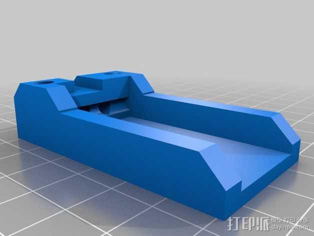 Graupner GR-16陀螺仪接收器 3D打印模型渲染图