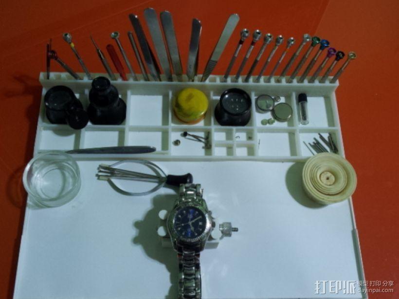 钟表工具盒 3D打印模型渲染图