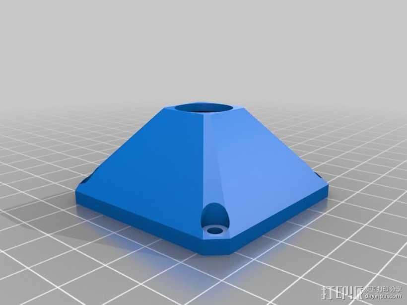 索尼相机保护罩 3D打印模型渲染图