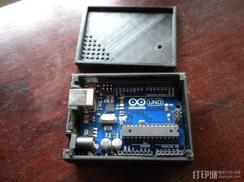Arduino Uno——不需要螺丝 3D打印模型渲染图
