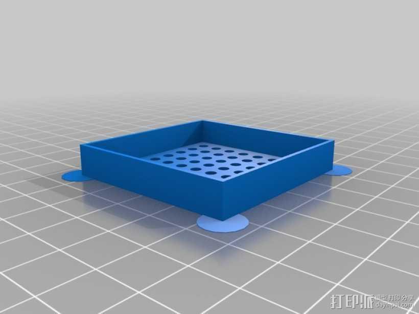 LED参数 3D打印模型渲染图