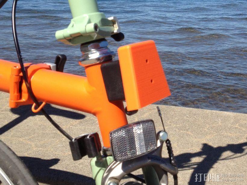 自行车载盖面 3D打印模型渲染图