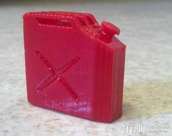 油气罐 3D打印模型渲染图