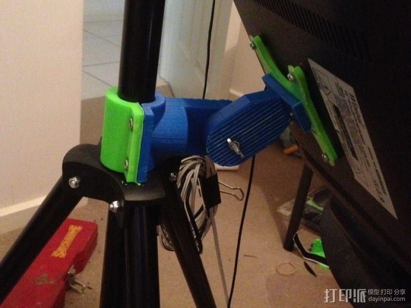 挂屏支架 3D打印模型渲染图