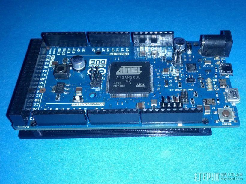 开源硬件安装板 3D打印模型渲染图