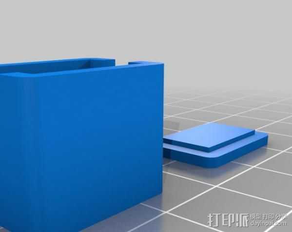串联开关箱 3D打印模型渲染图