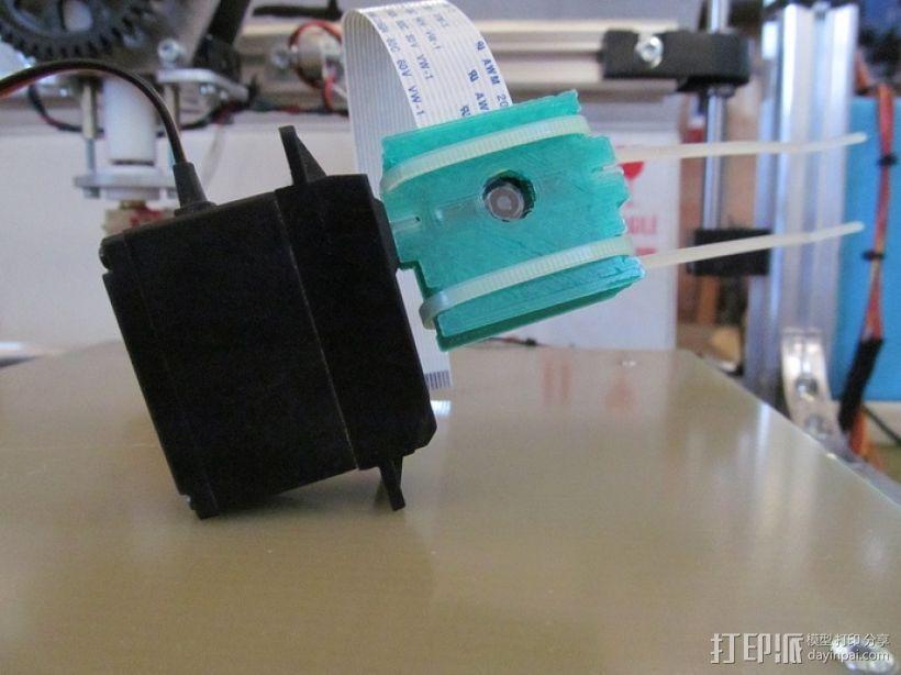 Raspberry Pi手机套 3D打印模型渲染图