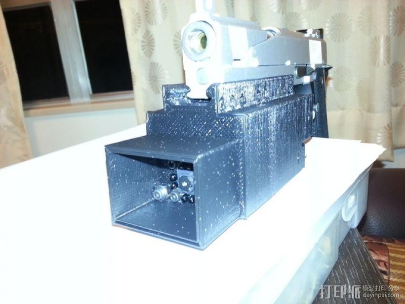 夜视镜和电池房 3D打印模型渲染图