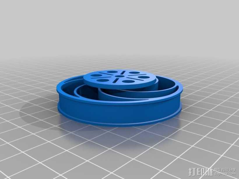 Bas车轮 v1.14 3D打印模型渲染图