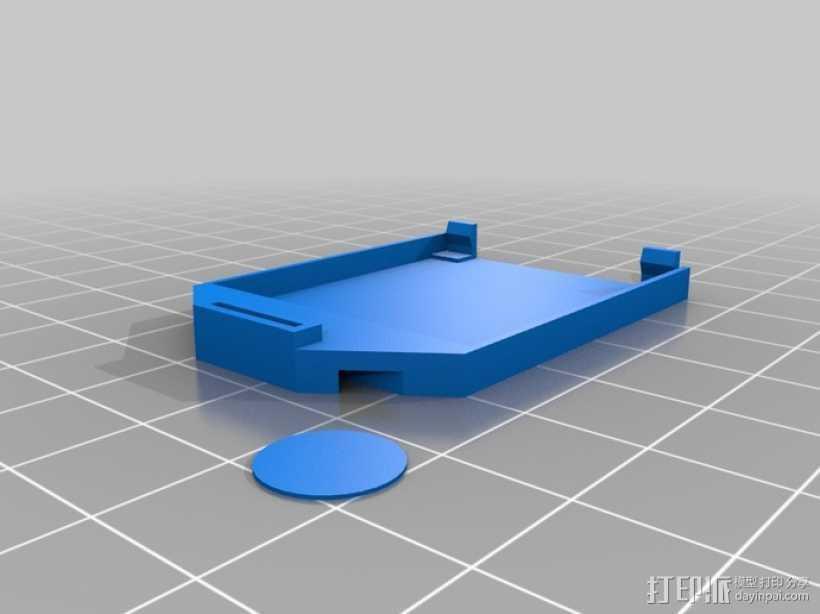 Arduino XBee板架 3D打印模型渲染图