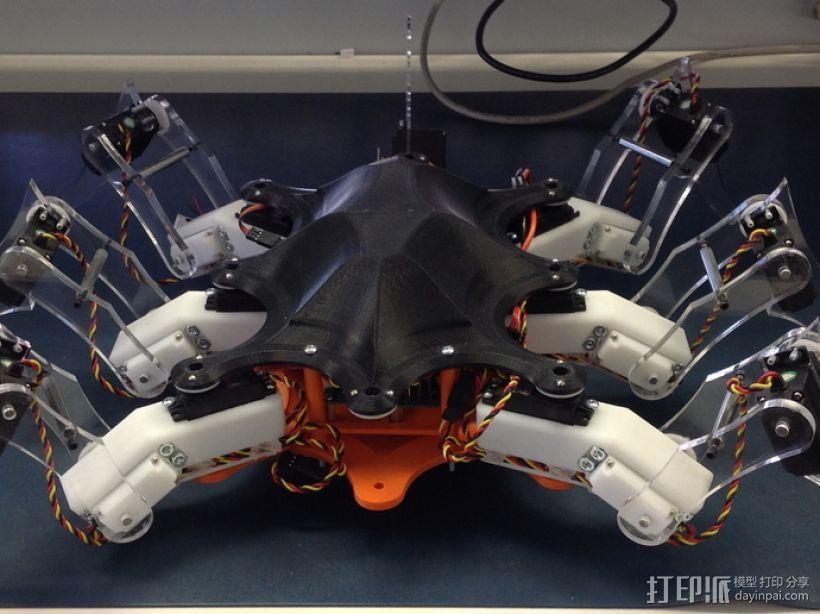 六足昆虫 3D打印模型渲染图
