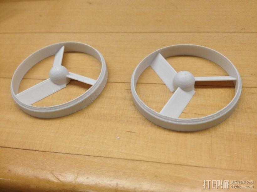 参数导管螺旋桨 3D打印模型渲染图