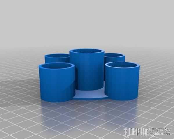 防漏嵌条 3D打印模型渲染图