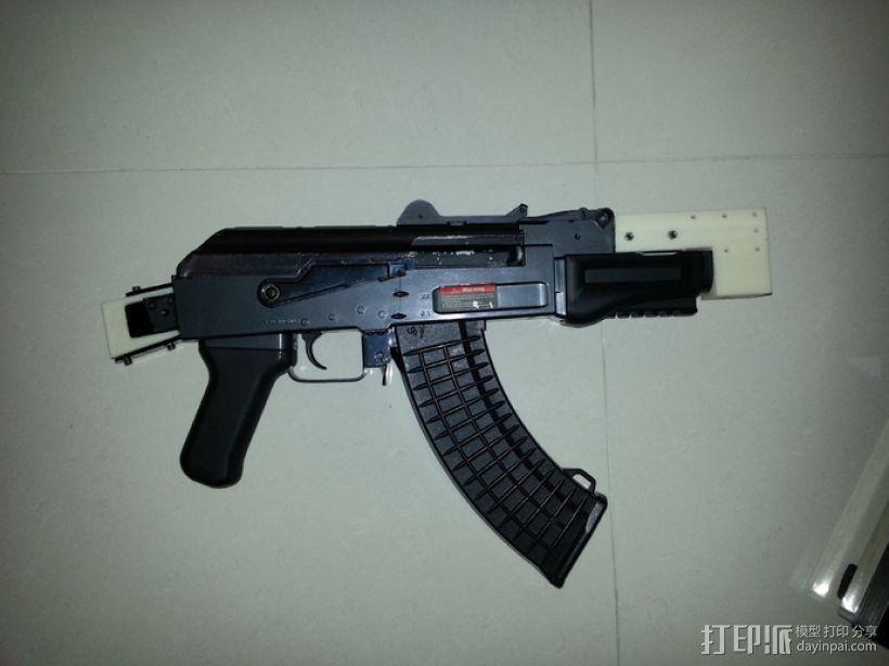 软弹气枪填料 3D打印模型渲染图