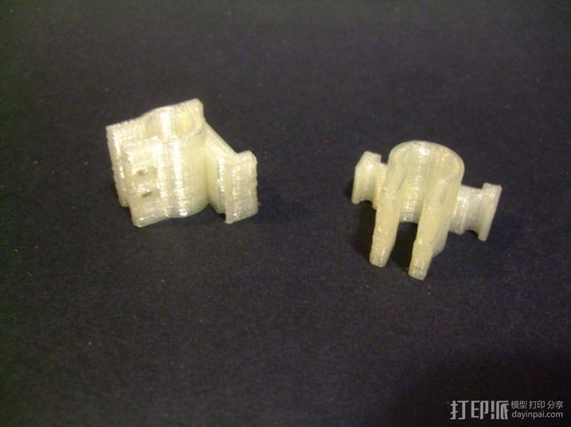Micro-Hexapod笔座 3D打印模型渲染图